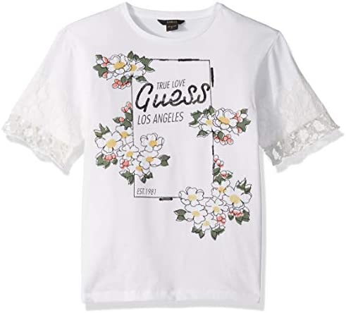 GUESS Girls Big Floral Graphic Active Short