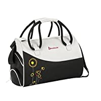 Badabulle Bowling Baby Changing Bag - Flowers