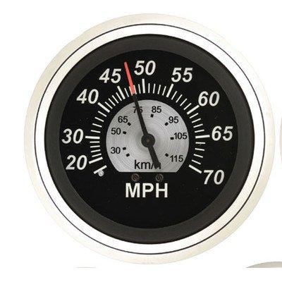 35 Mph Speedometer (Sierra International 67283P Sterling 0 to 35 Mph Dial Range Scratch & Fog Resistant Speedometer Kit, 3