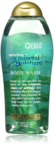 OGX Quenching + Sea Mineral Moisture Body Wash, 19.5 (Bath Gel Moisture)