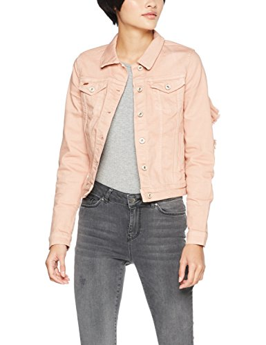 Rose Donna Onlflair Jacket Only Rose Giacca Misty Colour Ls Pnt Rosa In misty Jeans Frill 6ww4qdRz