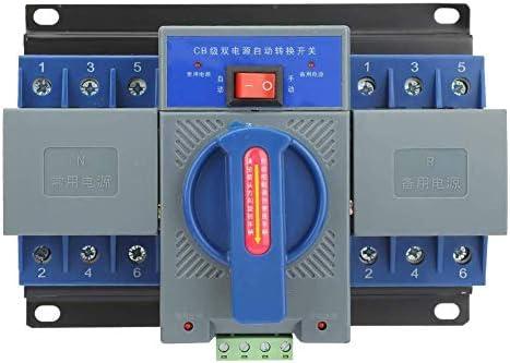 ST-ST プロテクトミニ63A 3Pインテリジェントデュアルパワー自動切り替え転送スイッチアダプタサーキットブレーカーの1pcs Automatic Transfer Switchの、 遮断器