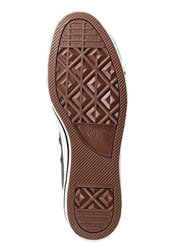 Converse Damen Schuhe All Star Hi Suede Grau 132119C Chucks Sneakers Leder Dunkelgrau Größe 36,5