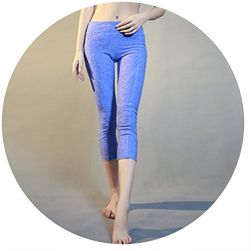 Summer-lavender Tight-Fitting Sweatpants Quick-Drying Fitnes