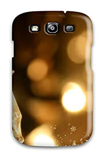 New Style 8308489K58148767 Snap-on Happy Holidays Case Cover Skin Compatible With Galaxy S3