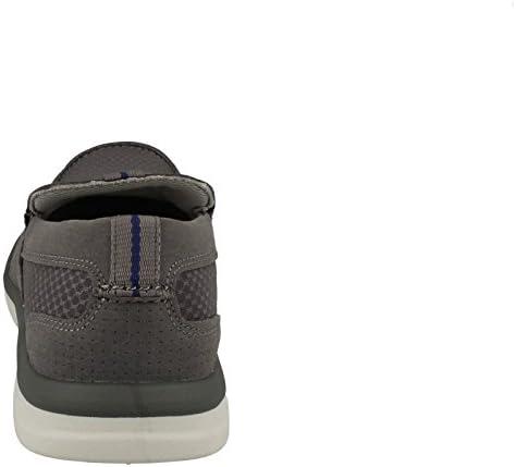 Clarks Détente Homme Chaussures Marus Step en Textile Gris Taille 46