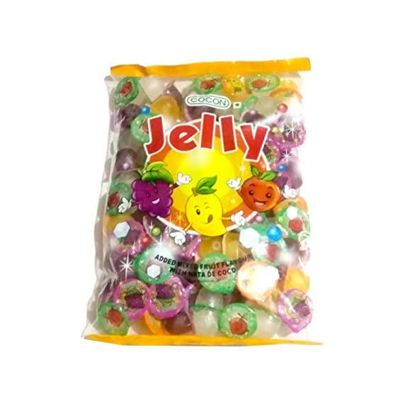 Cocon Jelly Added Mixed Fruit Flavour with NATA De Coco
