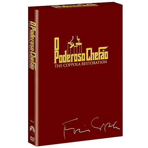 DVD O Poderoso Chefão [ The Godfather Trilogy Collection Coppola Restoration ] [Audio and Subtitles in English + Brazilian Portuguese] [Brazilian Edition Region 4] (Xbox Crime Games)
