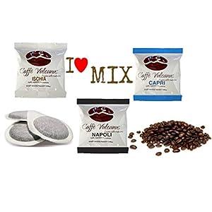 Caffè Vulcanus - Kit assaggio 150 cialde ESE44 - Degustazione caffè miscela Napoli, Ischia e Capri.