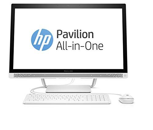 HP Pavilion 27-a150ng (Y4L07EA) 68,6 cm (27 Zoll / FHD IPS) All in One Desktop PC (Intel Core i5-6400T, 8 GB RAM, 1 TB SSHD, NVIDIA GeForce 930A, Windows 10 Home 64) weiß