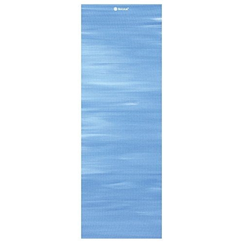 Gaiam Print Yoga Mat, Tye Dye, 3/4mm