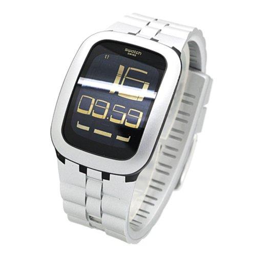 Reloj SWATCH Touch surm100 al cuarzo (batería) resina quandrante negro correa goma: Amazon.es: Relojes