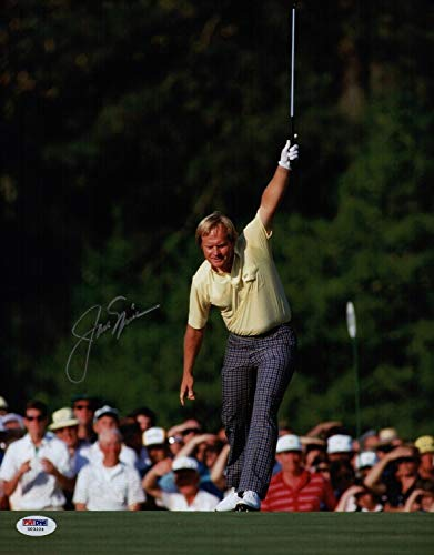 Jack Nicklaus Autographed Signed 1986 Masters 11x14 Photo Memorabilia PSA/DNA Loa U03224