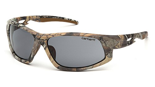 Carhartt CHRT620DT Ironside SAFETY Glasses, Realtree Xtra Frame, Gray Anti-Fog Lens by Carhartt