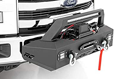 Rough Country Winch Mounting Recovery Systems (fits) 2009-2019 F150 V8