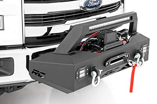 Rough Country EXO Winch Mount System (fits) 2009-2019 Ford F150 10762 Winch Mount System F-150