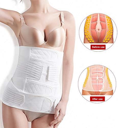 tesyyke Postnatal Support Belly Band High Waist Shaping Belly Band Women 2-in-1 Belt Set