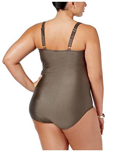 Swimsuit Pezzo Formato Calvin Più Bronzo Klein Starburst Un 16w Di v8H4qv