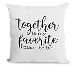 ***PLEASE READ ENTIRE DESCRIPTION BEFORE PURCHASING*** *Our farmhouse pillow covers are handmade with love by myself, my mom, and my grandma Bonnie Jean on our property in Colorado. We all work together to make the designs digitally or they a...