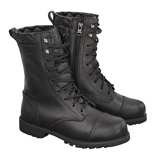 per lotta 38 le donne Merlin impermeabili G24 moto stivali taglia da nera 4xRqYZw