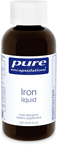 Pure Encapsulations Hypoallergenic Supplement Hemoglobin