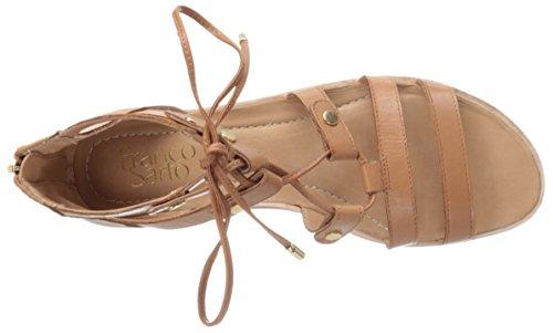 Franco Sarto Donna Baxter Gladiatore Sandalo Con Burro Di Arachidi