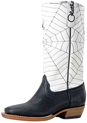 Olathe Western Boots Boys Cowboy Kids Spider Web 9 Child Black OK44