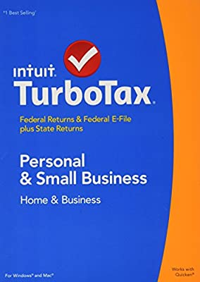 TurboTax 2014 Home and Business Federal + State + Federal E-File (PC & Mac)