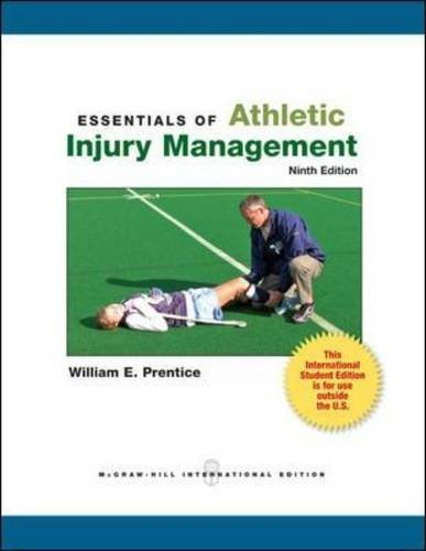 Essentials of Athletic Injury Management (9th Revised edition) [Paperback]