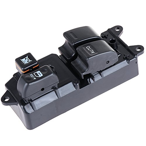Window Switch Power Window Switch Master Control Window Switch Front Driver Side Replacement Parts fits 2007-2015 Toyota Hilux 2 Door 1999-2005 Toyota Hiace 1996-2008 Toyota Land Cruiser 8482010100