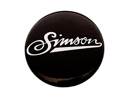 /Ø25 mm Anstecker Simson weiche Schrift SIMSON weich Button