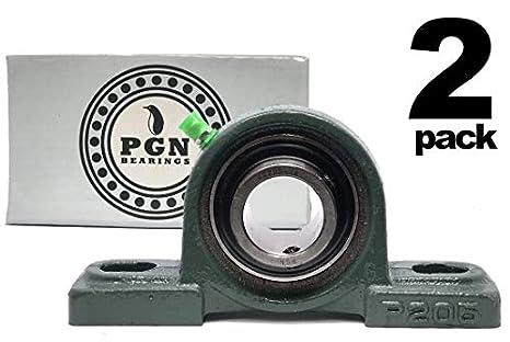 Amazon.com: PGN UCP205-16 - Rodamiento de bolas con soporte ...