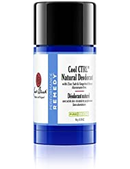 JACK BLACK – Cool CTRL Natural Deodorant – Aluminum-Free, Time-Released Odor Blockers, Anti-Bacterial and Anti-Fungal, Natural Ingredients, 2.75 oz.