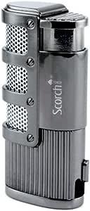 Scorch Torch Olympus Triple Jet Flame Butane Torch Cigarette Cigar Lighter w/Punch Cutter Tool