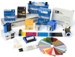 Zebra card 104523-133 CR-80 Premier PVC Card, 30 mil Thickness, Metallic Gold by Zebra card