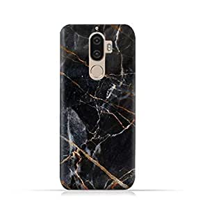 """""""Lenovo K8 Note TPU Silicone Case With Dark Grey Marble Texture"""""""