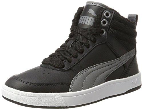 black Fur Puma Adulto Sneaker Collo Alto V2 Pearl – Rebound Street A Nero Unisex smoked TxBwqZ1x
