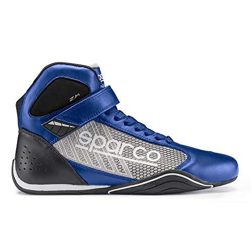 - Sparco Omega KB-6 Karting Shoe 001257 (Size: 43, Blue/Silver)