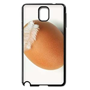 Diy Cute Egg Phone Case for samsung galaxy note 3 Black Shell Phone JFLIFE(TM) [Pattern-2]