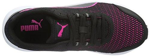 Puma Descendantv4wnsf6, Zapatillas de Running para Mujer Negro (Black/Pink 02)