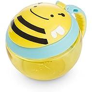 Skip Hop Baby Zoo Little Kid/Toddler Snack Cup, Brooklyn Bee, Multi