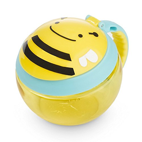 Skip Hop Toddler Snack Cup, Bee
