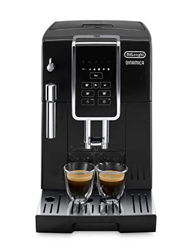 B - Cafetera superautomática, 1450w, panel control intuitivo táctil lcd, dispositivo de cappuccino, negro: Amazon.es: Hogar