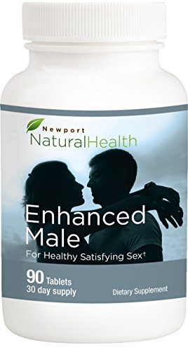 Newport Natural Health Enhanced Male 90 Tablets (30-Day Supply)