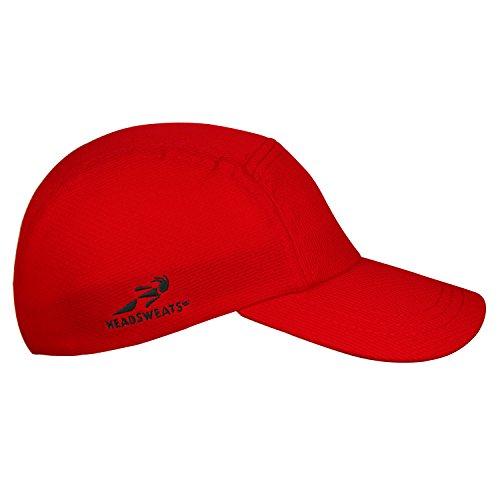Headsweats Rosso Performance Deportiva Race Gorra Rojo r4xrwPUSq