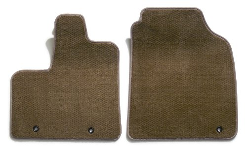 Premier Custom Fit 2-piece Front Carpet Floor Mats for Isuzu Trooper (Premium Nylon, Beige)