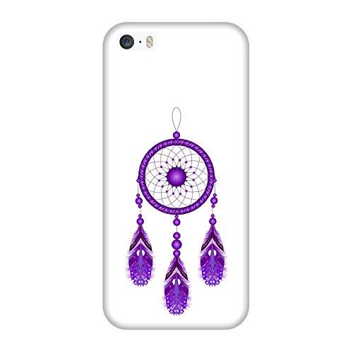 Coque Apple Iphone 5-5s-SE - Attrapeur de rêves violet