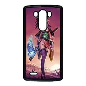 LG G3 Cell Phone Case Black_Fantasy Girl Warrior Dbdyn