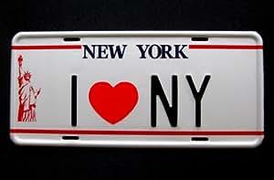 Matrícula USA New York (I LOVE NY)