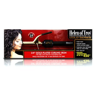 Hot Shot Tools Gold Series Spring Curling Iron, 1 1/2 Inch